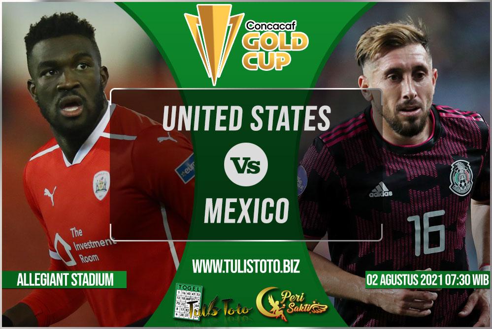 Prediksi United States vs Mexico 02 Agustus 2021