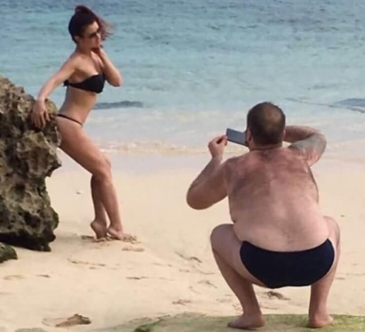 Fotos bizarras de casais de namorados
