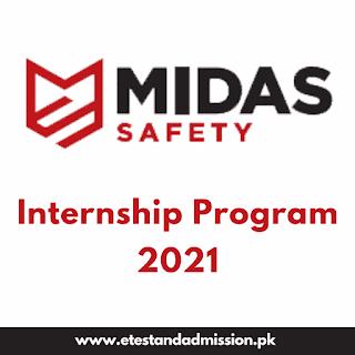 Midas Safety Internship Program 2021