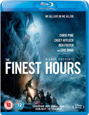 Poster Of The Finest Hours 2016 English 400MB BRRip 720p ESubs HEVC Free Download Watch Online Worldfree4u