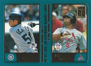 2001 Topps Traded Ichiro and Pujols #99