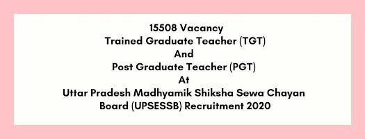 TGT & PGT Jobs in Uttar Pradesh