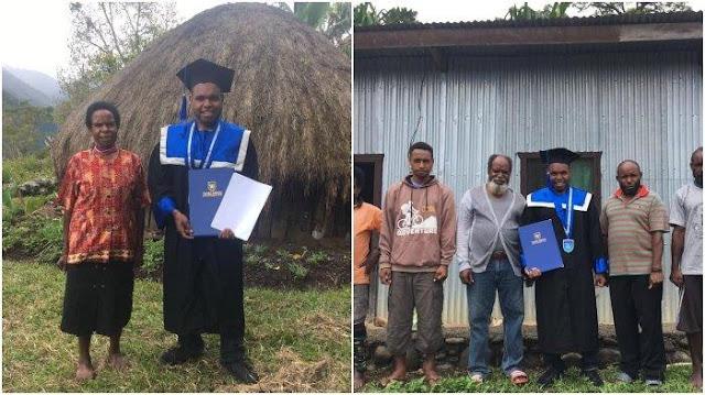 Viral Wisuda Putra Papua Tak Dihadiri Orang Tua karena Biaya, Sosoknya Berprestasi Keliling Dunia