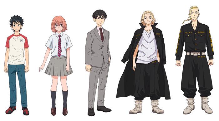 Tokyo Revengers anime - reparto