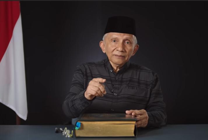 """Soroti Ketidakadilan Terpa Habib Rizieq, Amien Rais: Jangan Sampai """"Hayya Alal Jihad"""" Diserukan di Indonesia!"""