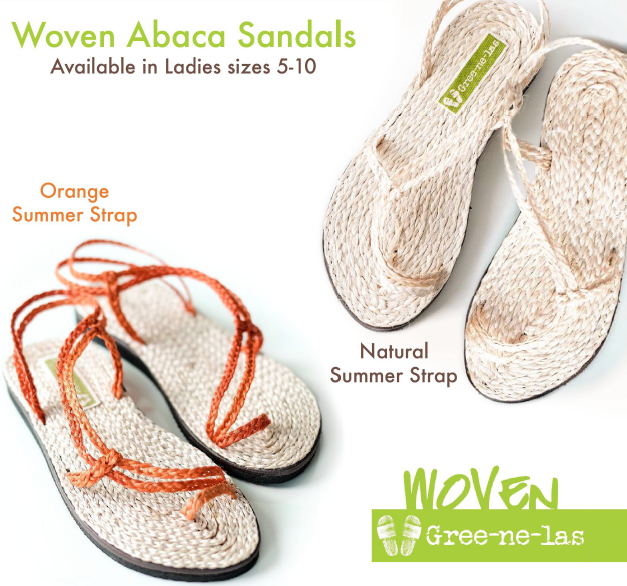 Woven Abaca Sandals