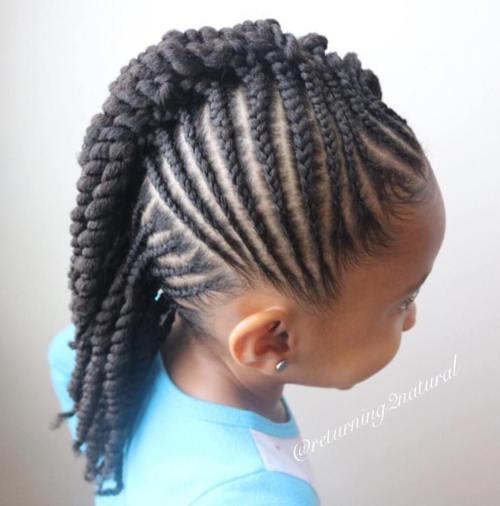 Kids Braids Hairstyles For Black Kids