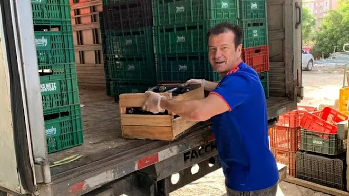 Dunga joins the fight against the coronavirus by donating ten tonnes of food