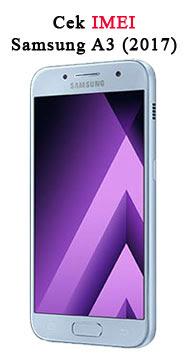 5) Cara Cek Imei Samsung A3 (2018) Orisinil 100% Akurat