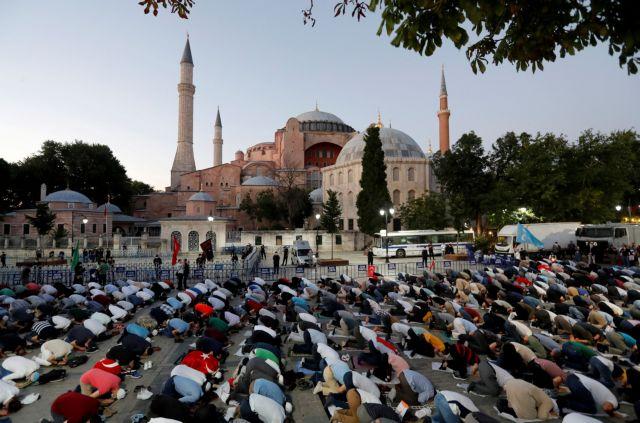 Η Αγία Σοφία θα παραμένει ανοικτή όλο το 24ωρο με εντολή Ερντογάν