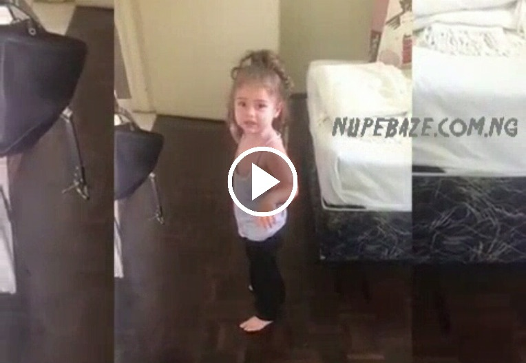 VIDEO: How American Little Girls React To Their Parent When Angry (Funny Video)