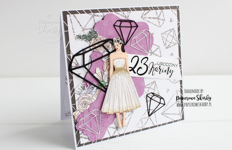 scrapbooking cardmaking handmade rękodzieło kartki ręcznie robione kartka w pudełku na 30 urodziny papierowe skarby na 18-nastkę 18 z życzeniami dla kobiety dziewczyny kobieta dziewczyna wyjątkowa kartka urodzinowa kartki urodzinowe hand made 23 urodziny