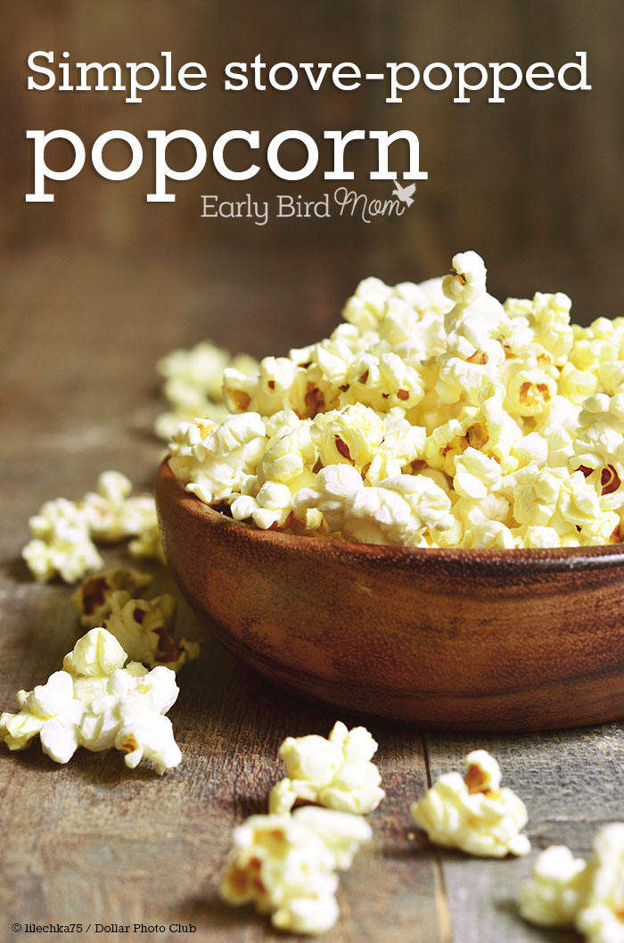 homemade popcorn cheap healthy snack