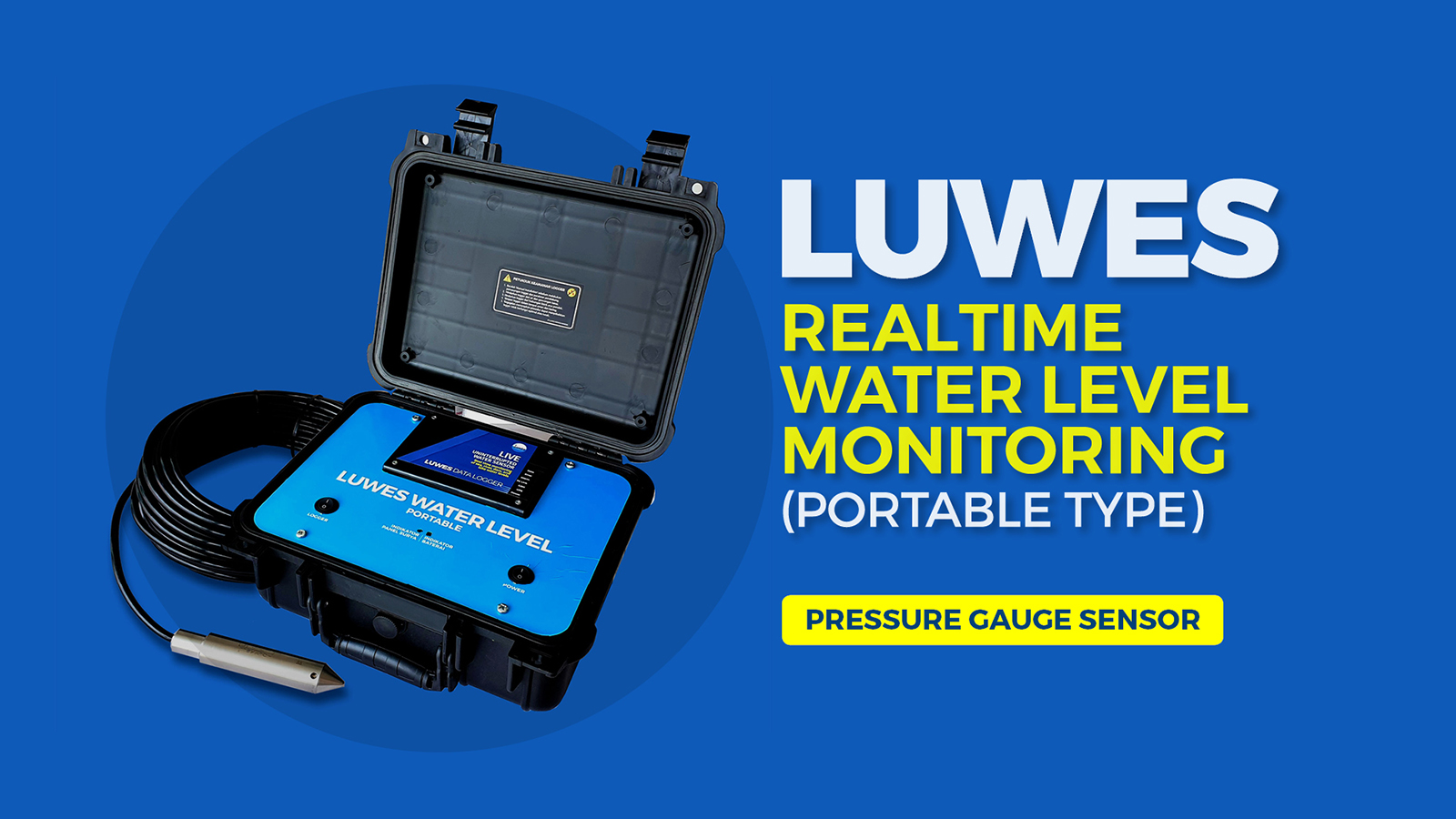 Luwes Water Level Portable Monitoring System