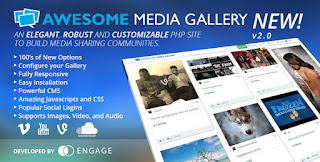 Download CodeCanyon Awesome Media Gallery v2.2.1
