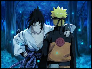 gambar naruto dan sasuke keren