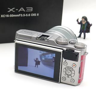 Mirrorless Fujifilm XA3 Fullset/ Kamera Second