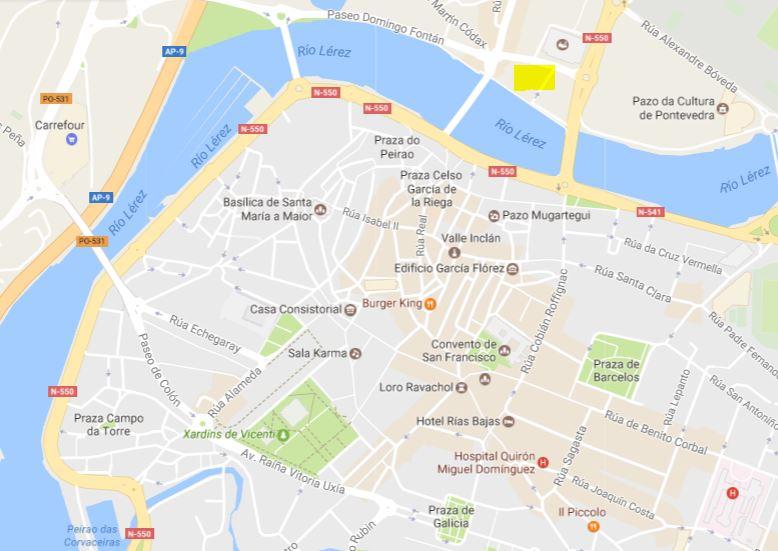 Mapa De Pontevedra Ciudad.Pontevedra Ciudad En 10 Visitas Imprescindibles Preparar Maletas Blog De Viajes