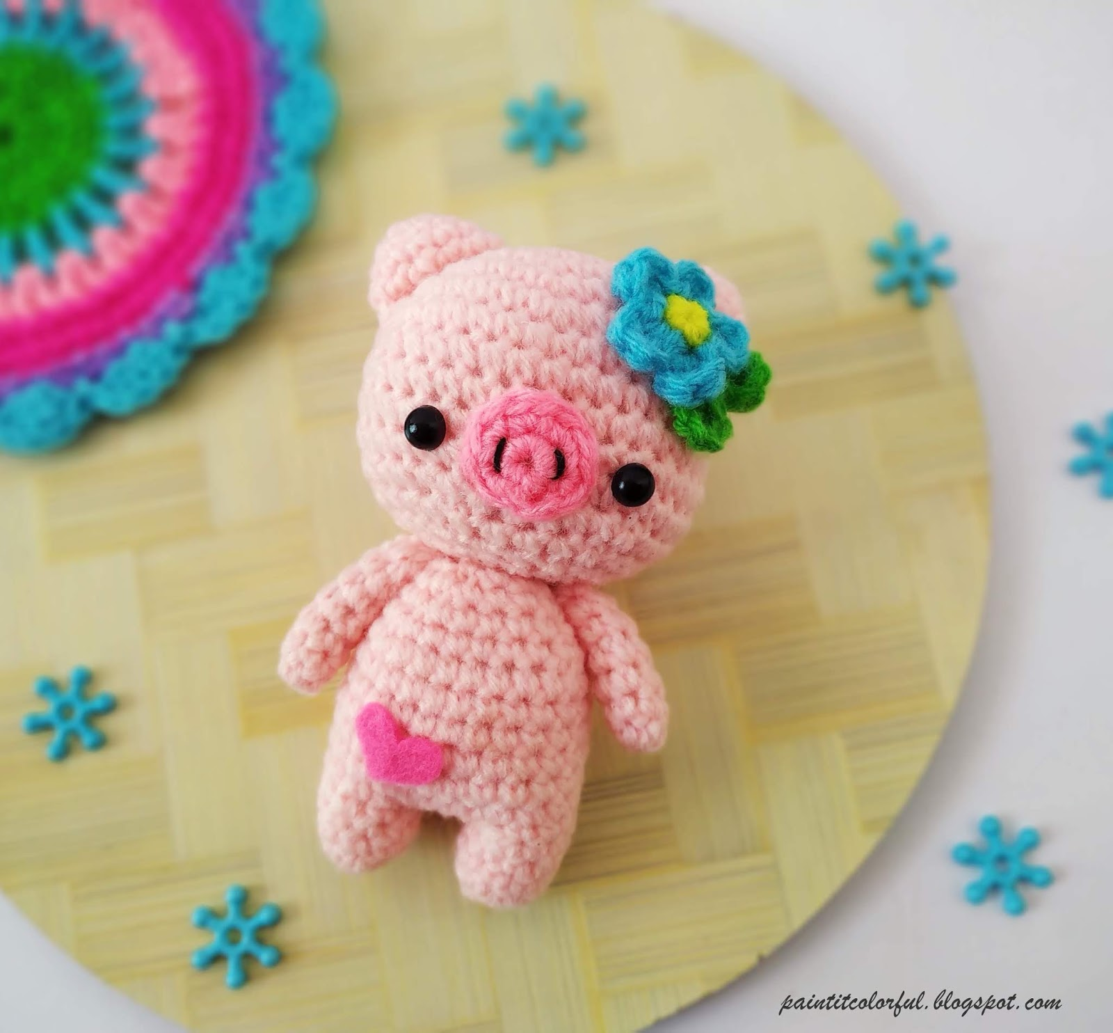 Peppa Pig - free crochet pattern - Amigurumi Today | 1484x1600