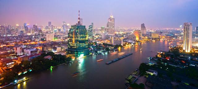 Бангкокский горизонт, Таиланд.