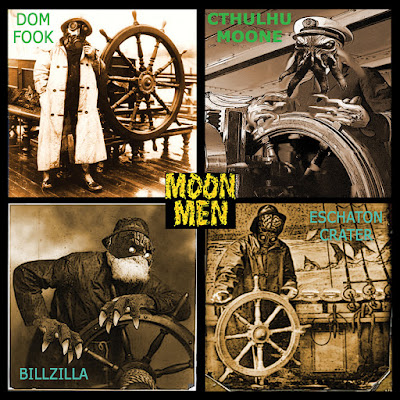 Moon Men - Tales From The Space Pirates
