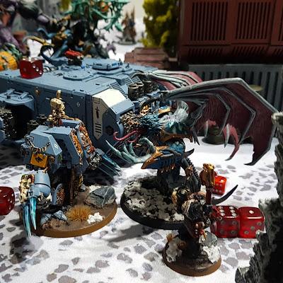 Shield C 5x Thousand Sons Tzaangors Bits