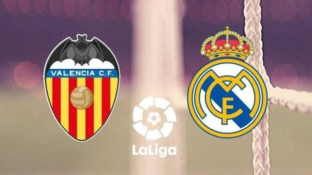 Valencia vs Real Madrid Canlı-Live