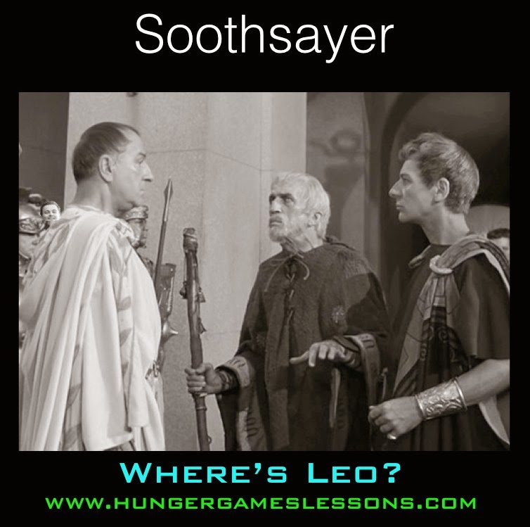 Where's Leo? Can you spot the images of Leonardo DiCaprio in the Julius Caesar memes?