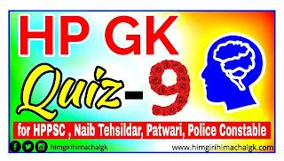 Himachal GK for HAS HPPSC