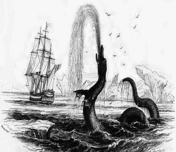 Egede's Sea Serpent