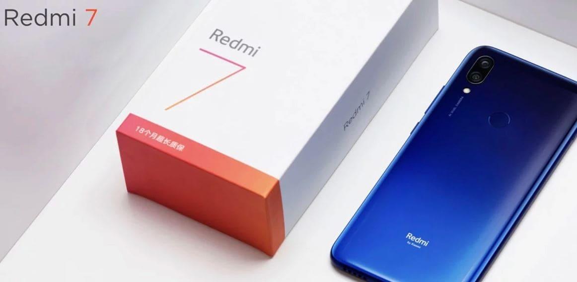 هاتف شاومي ريدمي 7 / 7 Redmi ارخص موبايلات شاومي 2019