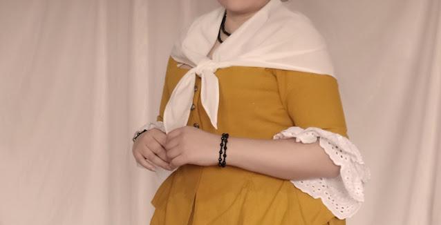 Fazendo um traje brasileiro 1780s