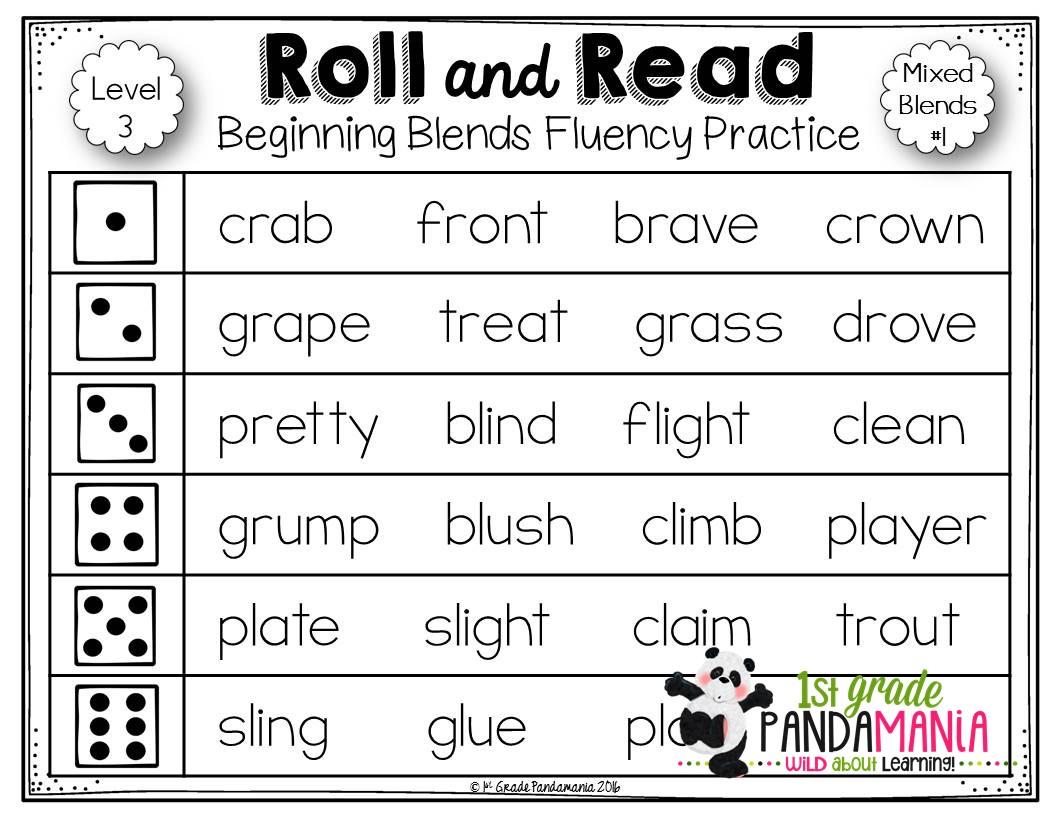 1st Grade Pandamania 6 Easy Tips For Teaching Blends