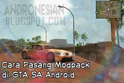 Cara Pasang ModPack GTA SA Android