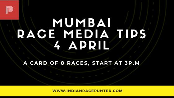 Mumbai Race Media Tips 4 April