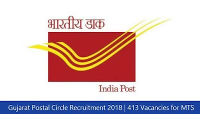 Gujarat Postal Circle Recruitment 2018