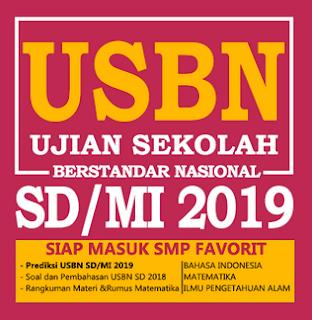 Geveducation:  Paket Soal USBN 2019: Bahasa Indonesia, Matematika, dan IPA Sesuai Kisi-Kisi