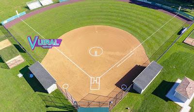 Contoh Gambar Bentuk Lapangan Softball 2