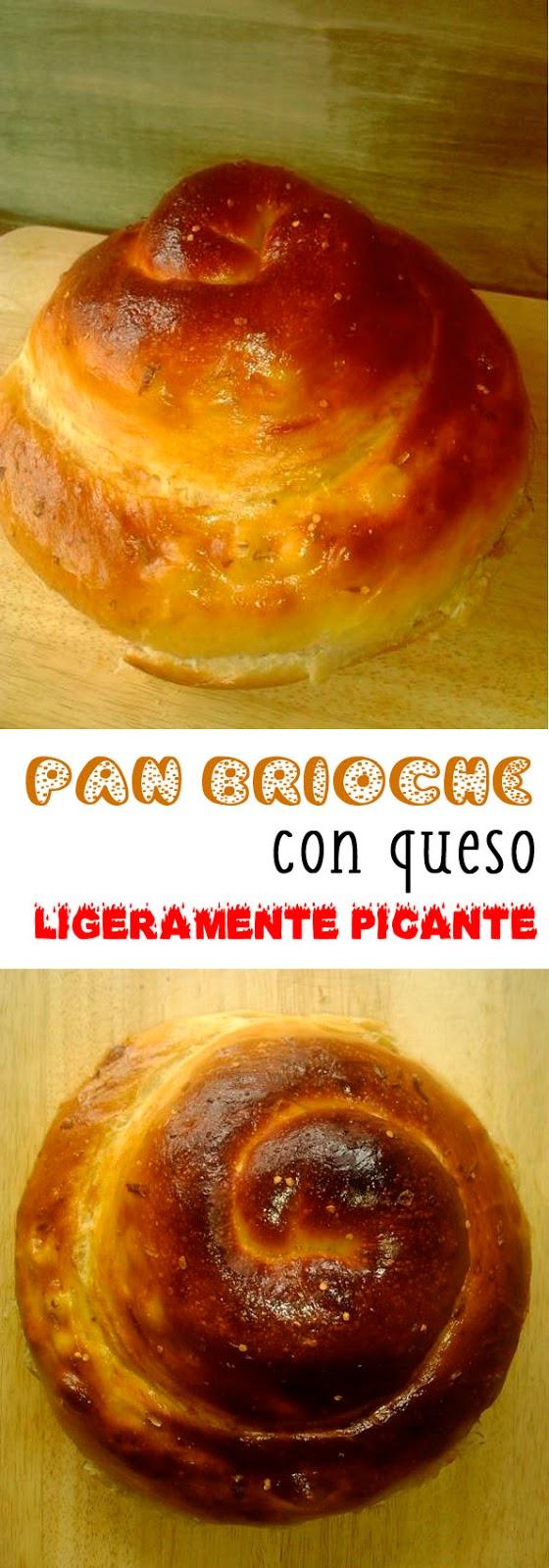 Pan brioche de queso ligeramente picante guindilla panificadora receta estados unidos americana wisconsin cheese bread america's test kitchen la cocinera novata