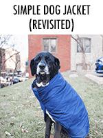 Simple dog jacket (take 2)