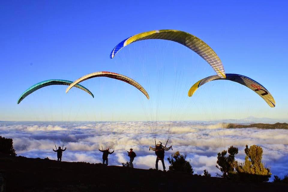La 27 Concentración de parapente de El Hierro será del 9 al 12 de octubre
