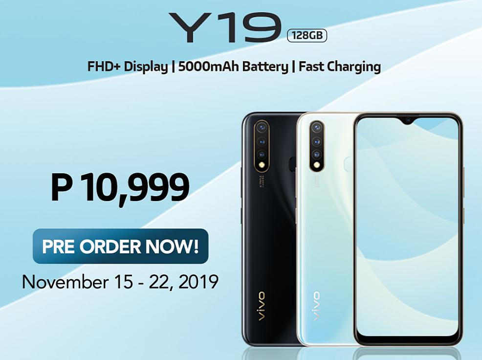 Vivo Y19 Philippines