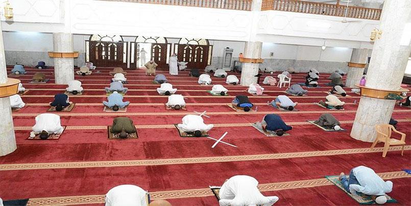 العودة إلى صلاة الجماعة في المساجد,الجزائر / 4 آلاف مسجد يستعد للفتح.. وهذه شروط صلاة الجماعة.