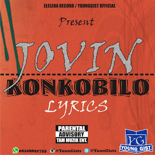 LYRICS: JOVIN – KONKOBILO