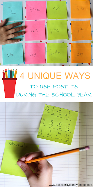 4 Unique Ways To Use Post-its During The School Year