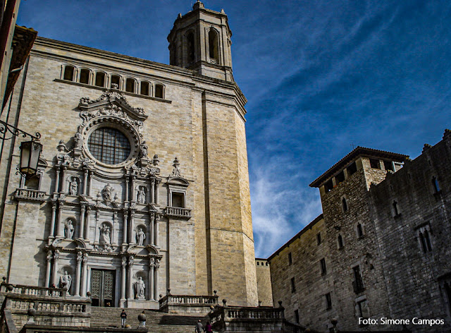 Catedral de Girona, cenário de Game of Thrones
