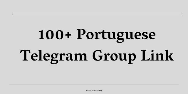 Portuguese Telegram Group Link