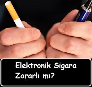 Elektronik Sigara Zararlı mı