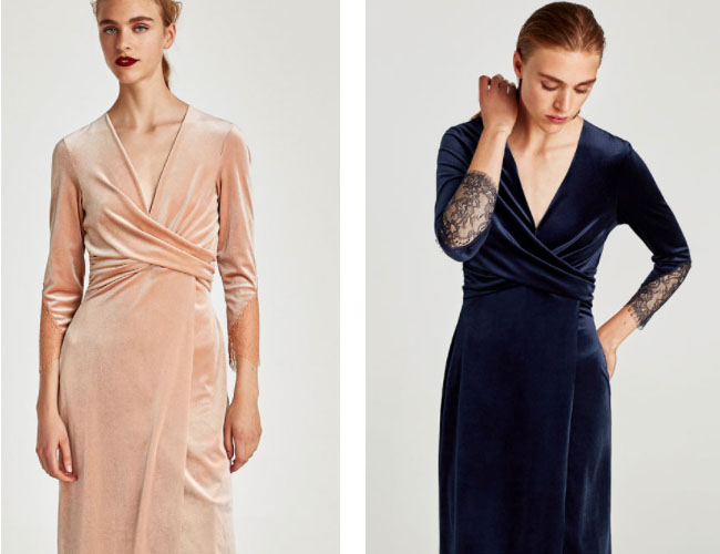 VELVET DRESS ZARA - AUTUMN DRESS WISHLIST // LAUREN ROSE STYLE// FASHION BLOGGER LONDON