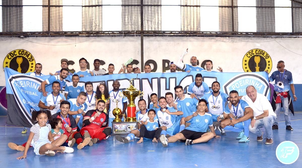 Poeirinha Futsal de Cumbica é o grande campeão da Copa Manoel Tobias 2019